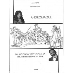 BOOK Andromaque - Jean Racine translated by Dox (bilingual)