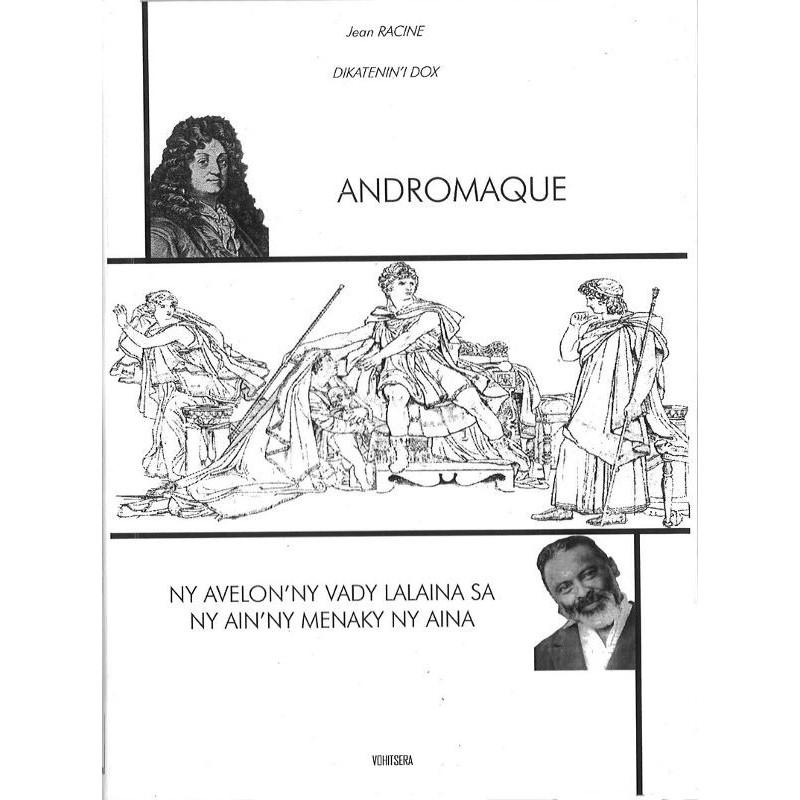 LIVRE Andromaque - Jean Racine traduit par Dox (bilingue)