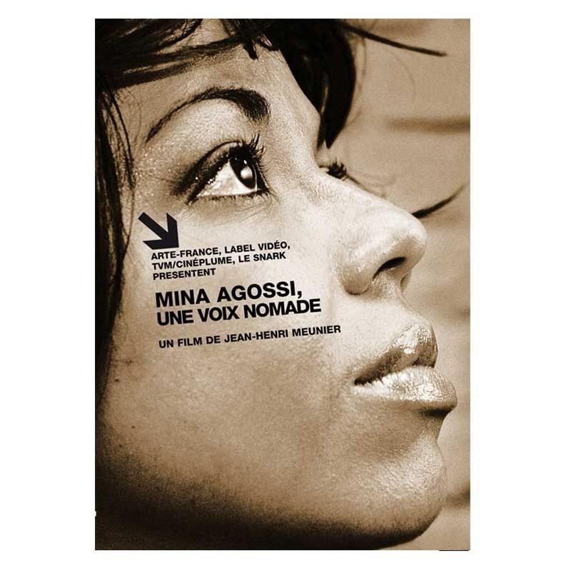 DVD Mina Agossi, a nomad voice - JH. Meunier