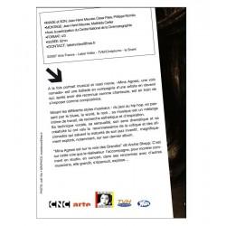 DVD Mina Agossi, une voix nomade - JH. Meunier