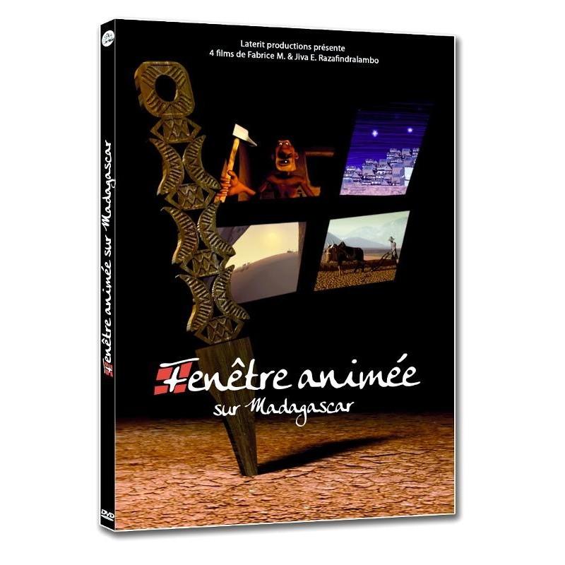 DVD Fenêtre animée sur Madagascar
