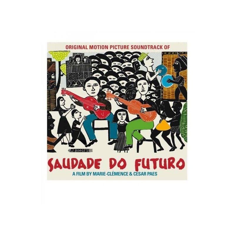 CD Saudade do Futuro - bande originale du film