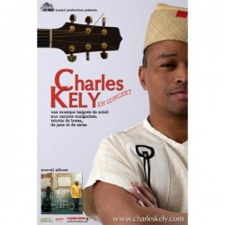 POSTER Charles Kely in concert