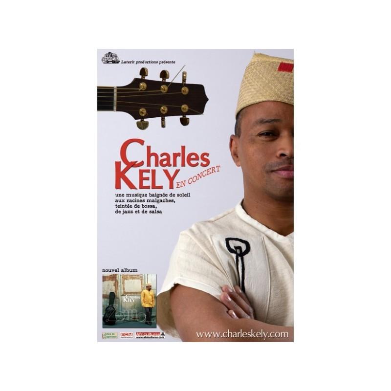 AFFICHE Charles Kely en concert
