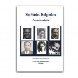BOOK Six poètes malgaches
