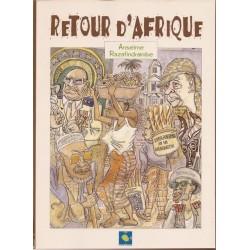 BOOK Retour d'Afrique - Anselme Razafindrainibe