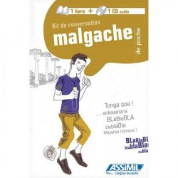 LIVRE+CD Kit de conversation Malgache Assimil
