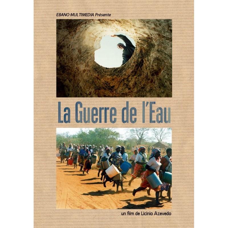 DVD A guerra da àgua - Licinio Azevedo