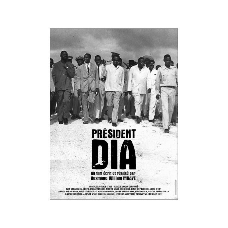 DVD Président Dia - Ousmane William Mbaye