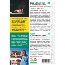 DVD Zulu love letter - Fools - Ramadan Suleman