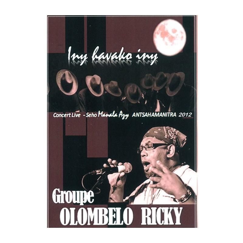 DVD Manala Azy 2012 - Olombelo Ricky
