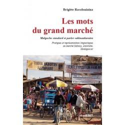 BOOK Les mots du grand marché - B. Rasoloniaina