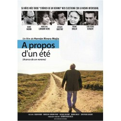 DVD A propos d'un été - Hernan Rivera