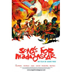 AFFICHE Songs for Madagascar S