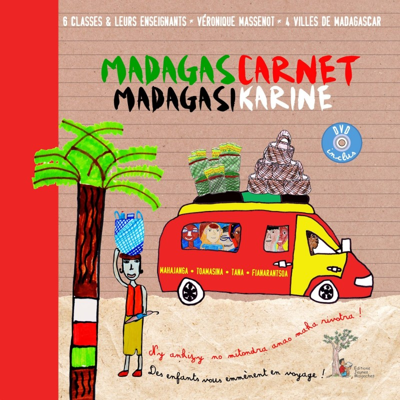 LIVRE MadagasCarnet - MadagasiKarine