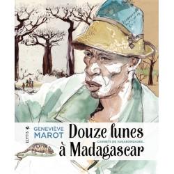 LIVRO Douze lunes à Madagascar - Geneviève Marot