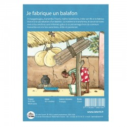 DVD Je fabrique un balafon - Julie Courel