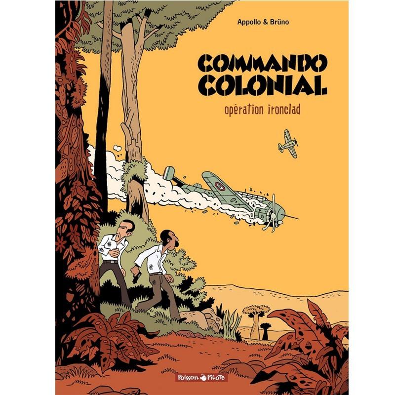 BD Commando colonial - Opération Ironclad