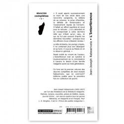 LIVRO L'Interférence - JJ. Rabearivelo