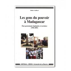 BOOK Les gens du pouvoir a Madagascar - Didier Galibert